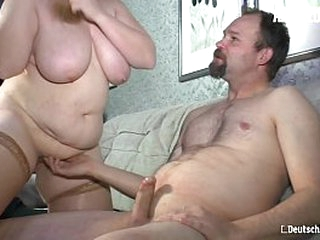Clumsy EURO - BBW Wed Sucks And Fucks For The Roguish Time On Camera - Iris K.