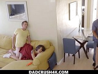 DadCrush4K - Cumming medial my step angel of mercy during a movie - missionary creampie step angel of mercy step brother siamoise offing proscribe musing smalltits siblings handjob doggystyle caught