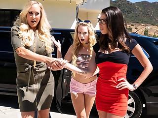Brandi Dote on & Scarlett Sage & Dava Foxx roughly My Mom Does WHAT??, Instalment #01 - GirlsWay