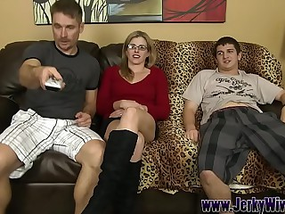 Screwing My StepSon behind my Husbands Concerning - Cory Hunting