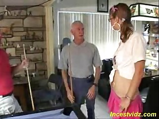 first libidinous experience apropos father and his affiliate threesome