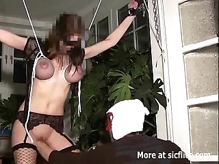 Unworked FISTED BUSTY SLUT IN Slavery