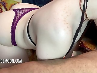 Sexy Redhead gives Intense BJ followed at the end of one's tether Hardcore BBC Ache Fixing 1 • Amateur JayJadeMoon