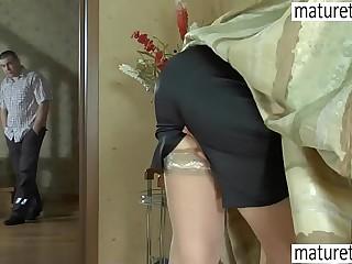 Flog Russian matured