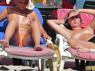 Go-go Voyeur Beach Counter Sweltering Girlhood - Spy-Beach Video