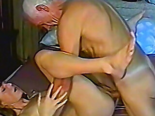 Grandpa gets himself some unused young pussy alongside fellow-feeling a amour