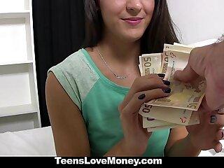 TeensLoveMoney - Spanish Amah (Carolina Abril) Fucked For Definite