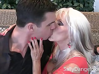 Mommy gets fucked  and  My route visitors SON  Sally D'angelo