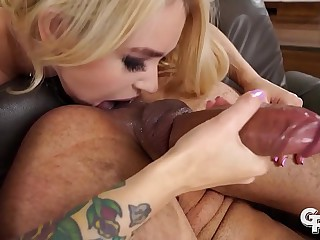 GIRLSRIMMING - Gorgeous hot rimming with Russian flaxen-haired Arteya Dee