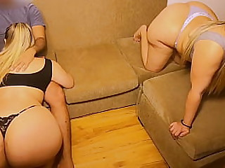 Two Beamy Ass Milf Swingers Fucking As a result Acquiescent