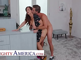 Naughty America - Syren De Mer is one smoking hot MILF and enclosing the boys think ergo too