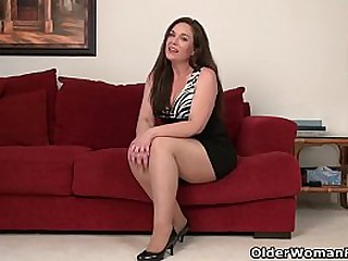 American milf Sonnick gets electrified by wearing pantyhose lacking with respect to undies (brand Original video available with respect to Full HD 1080P). Bonus video: USA milf Katrina.