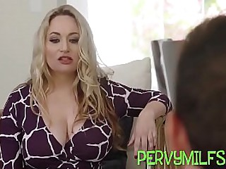 Teenage latina eaten out wits stepmom in hardcore 3some sex