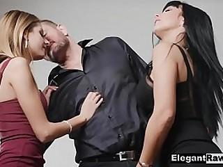Euro Milf & Teen Trilogy Hardcore Rough Fianc' Gonzo Porn